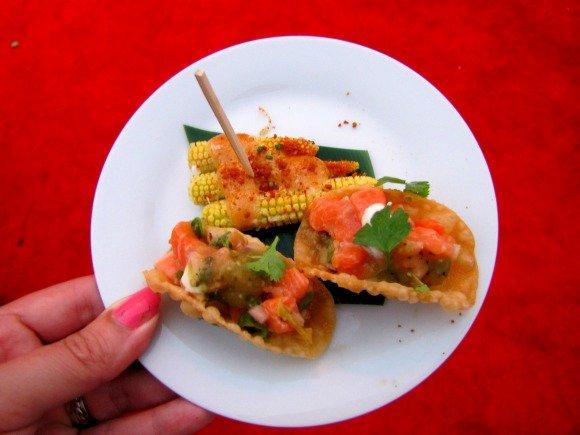Los Angeles Food Festival Asian Night Market, California