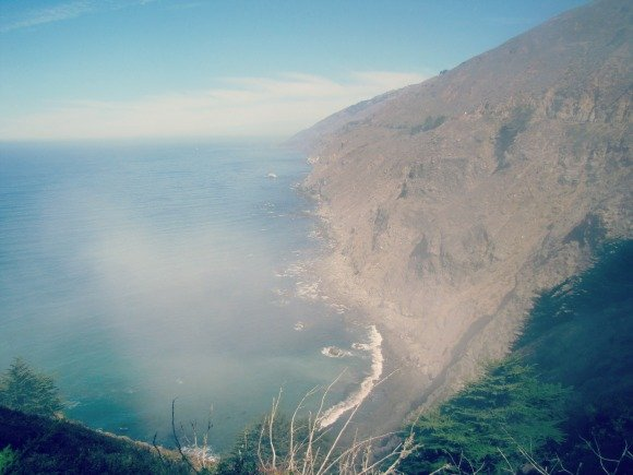 "Foggy ""Million Dollar View"", Big Sur, California"