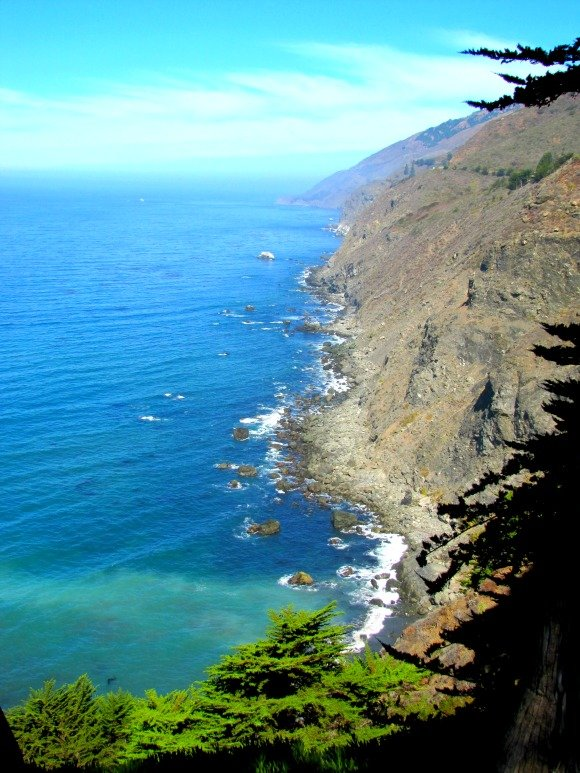 """Million Dollar View"", Big Sur, California"