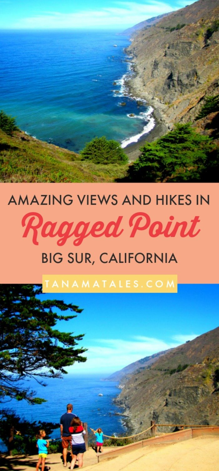 Things to do in #BigSur, #California – Travel tips and ideas - Ragged Point, CA is the first official stop in Big Sur for those navigating the coast from the south. A stop in this spot will give you the opportunity to enjoy magnificent cliff and ocean views, waterfalls, oak forests, coves and even redwoods. So, get ready for a road trip full of camping, hiking and photographing (there are creature comforts too). My guide will point out what to do and see! #RaggedPoint #USA