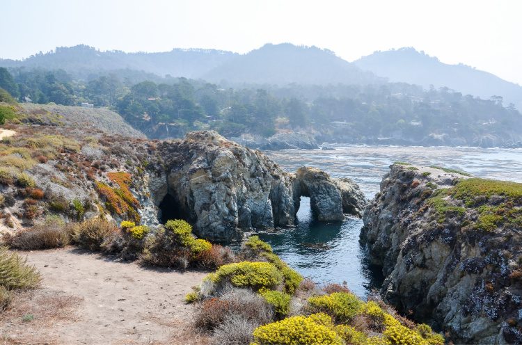 Arches sen from the Bird Island Trail