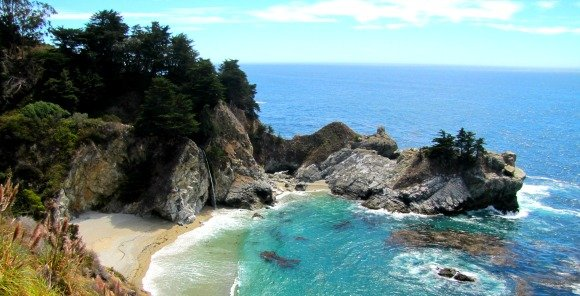 McWay Cove and Falls, Big Sur, California