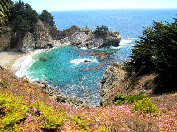 McWay Cove and Falls, Big Sur, California