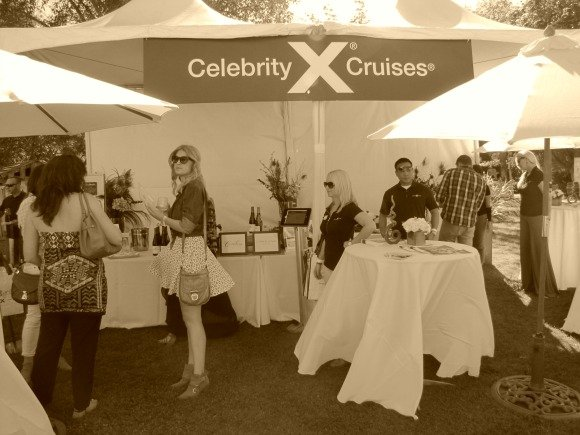 Celebrity Cruises Booth, The Food Event, Saddlerock Ranch, Malibu