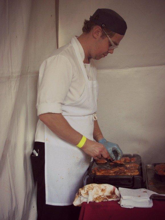 Spago Preparations, The Food Event, Saddlerock Ranch, Malibu