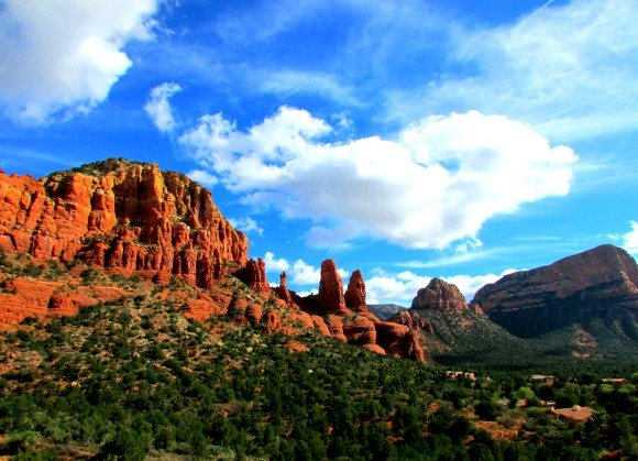 Views from the Chapel Road of the Holy Cross, Sedona, Arizona
