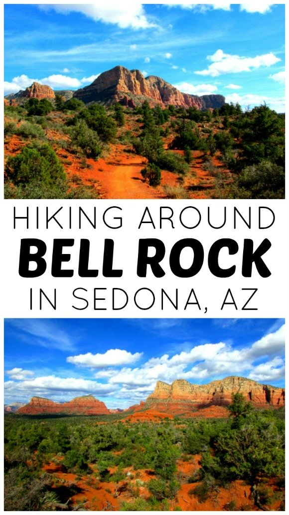 Bell Rock is one of the most famous spots in Sedona, Arizona. A hike around the area is perfect for families and people of all ages.