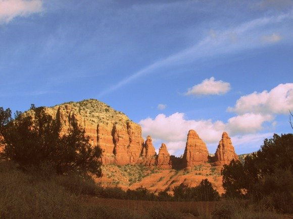 Views from the Little Horse Trailhead, Sedona, Arizona