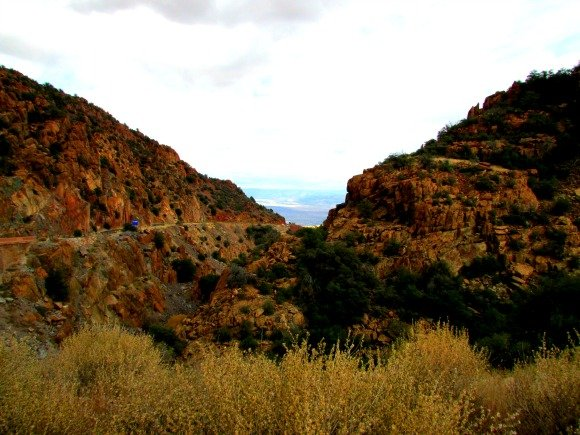 Mingus Mountains near Jerome, Arizona