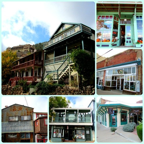 Buildings in Jerome, Arizona