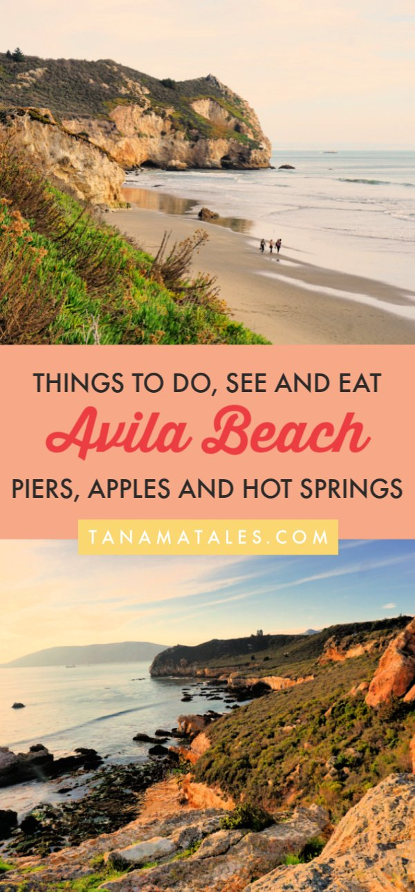 Things to do in Avila Beach, #California – Avila Beach, a small coastal town in San Luis Obispo County, is known for its piers, apple orchards, hot springs, seafood restaurants, pristine beaches, historic lighthouse and hiking opportunities.  Get ready because I am spilling the beans on the best things to do in Avila Beach.  Plus, I have tons of restaurants recommendations.  #roadtrip #beachtown #PCH #CentralCoast