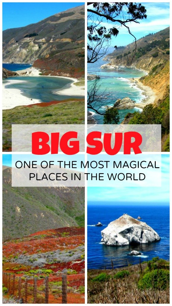 Big Sur, with its steep cliffs, deep blue ocean, turquoise coves, white sands and towering redwoods is a must see in California.