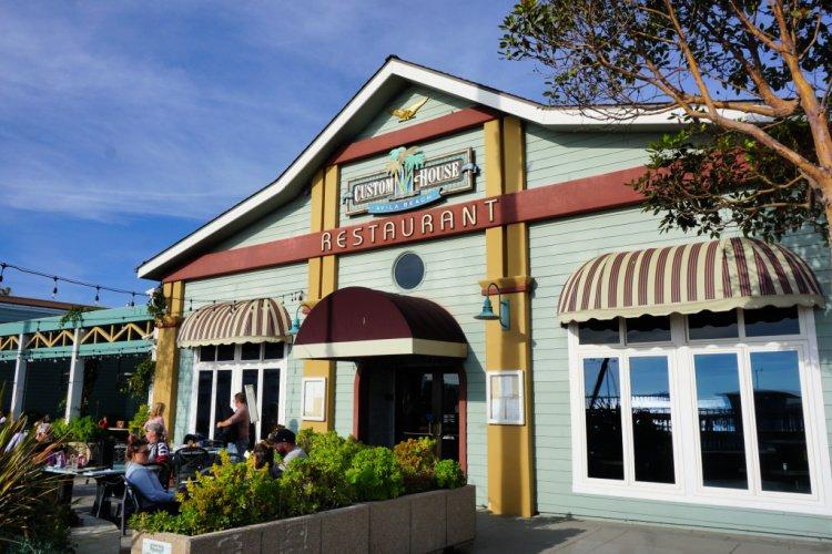 The Custom House restaurant in Downtown Avila Beach, California