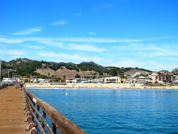 Views from Avila Beach Pier, California