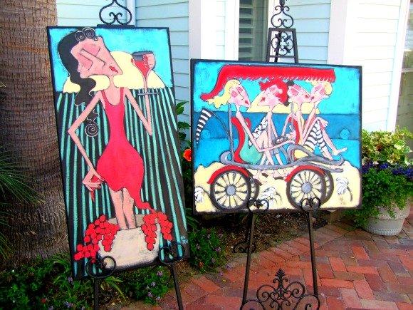 Art in Downtown Avila Beach, California