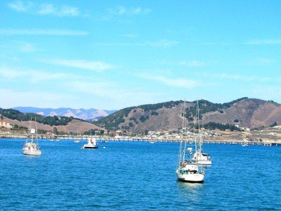 Views from the Hartford Pier, Avila Beach, California