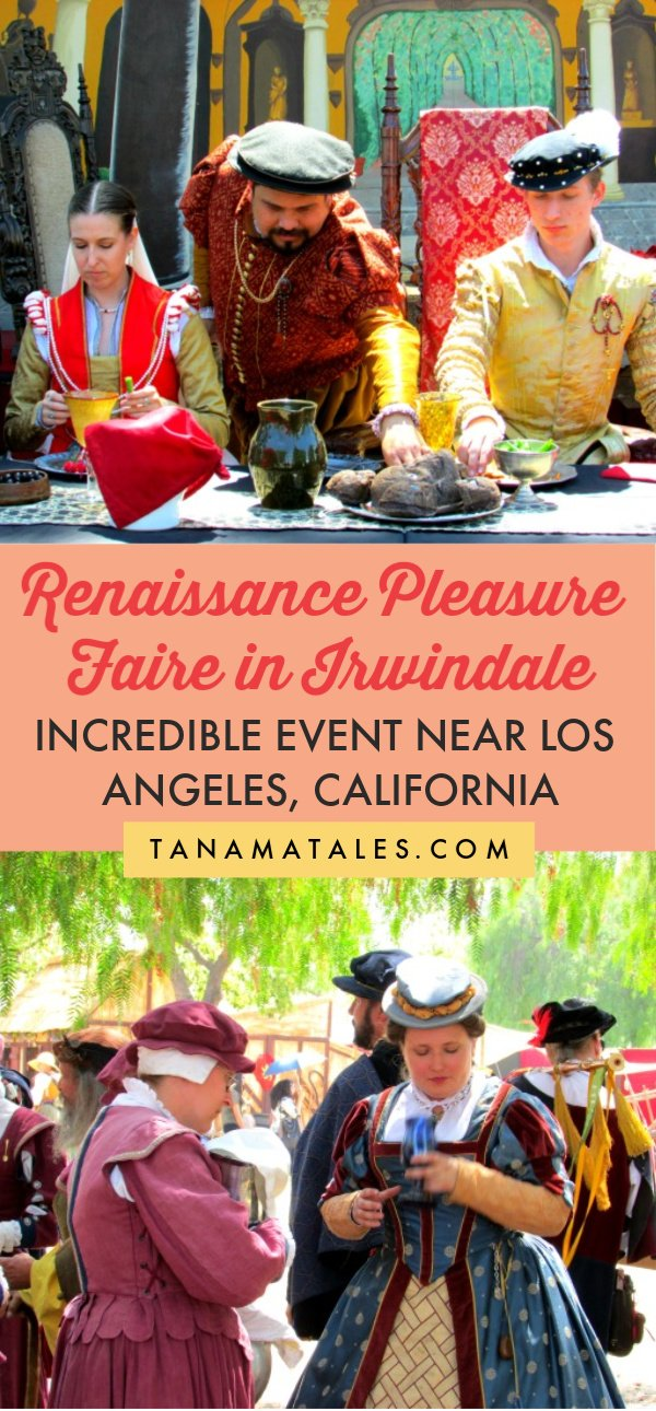 Things to do in Los Angeles, #California - The Renaissance Pleasure Faire takes place every year in Irwindale (at the Santa Fe Dam Recreational Area) | Renaissance Faire Costume | What to wear to a Renaissance Faire | Renaissance Faire Ideas | Renaissance Faire Activities | Los Angeles Events | Los Angeles Day Trips