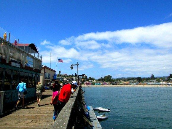 Capitola Wharf in Santa Cruz County, California