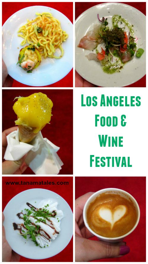 Take a look at the highlights of the Los Angeles Food & Wine Festivals. The best chefs in the area (and beyond) served delicious dishes.