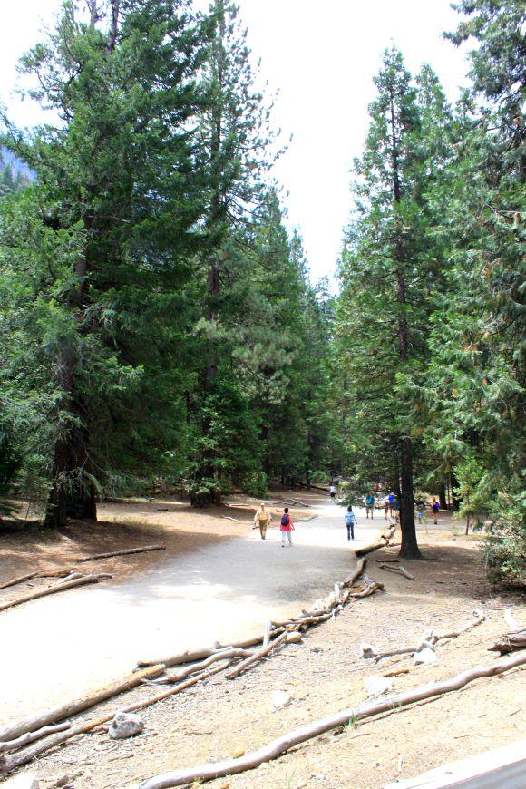 Hike to Vernal Fall, Yosemite National Park, California