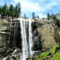 Mist Trail, Hike to Vernal Fall, Yosemite National Park, California