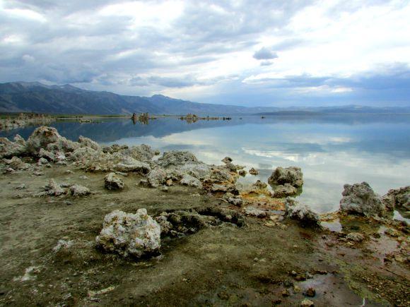 Tufa formations at Mono Lake, Eastern Sierra, California