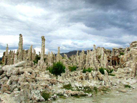 Tufa formations at Mono Lake, Eastern Sierra, California