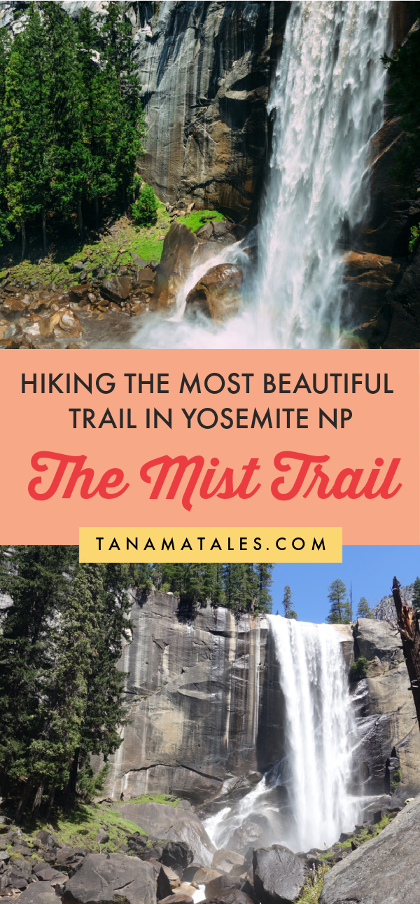 Hiking the Mist Trail in Yosemite National Park