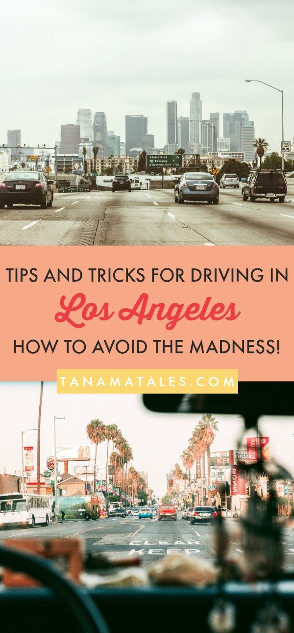 Things to do in Los Angeles, #California – Travel and vacation tips / ideas – If you are staying a couple of days in Los Angeles or making it a stop on your road trip, you will need some local insight on how to deal with traffic, freeways and parking. This article is full of tips and tricks for making your drives around #LA a breeze. Avoid the madness! Read this guide now! #LosAngeles #SantaMonica #VeniceBeach #Hollywood #BeverlyHills