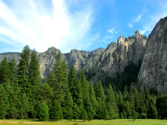 El Capitan Meadows, Yosemite National Park, California