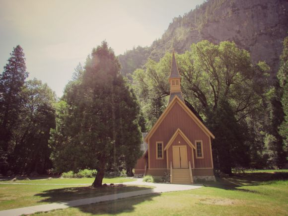 Yosemite Chapel, Yosemite National Park, California