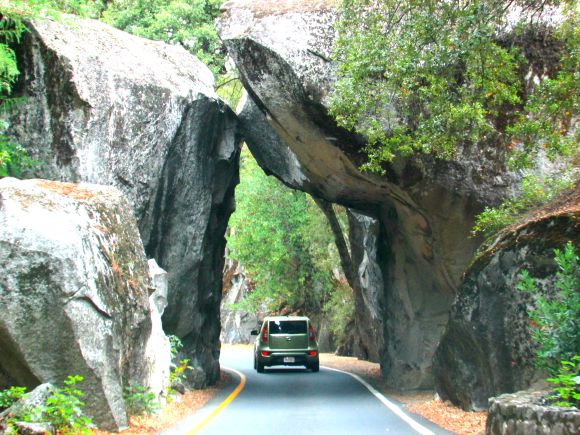 Arch Entrance, Yosemite National Park, California