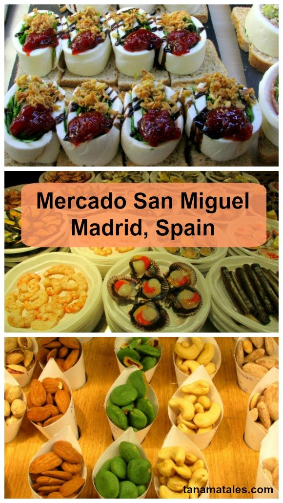 What to try at the Mercado San Miguel, one of the best markets in Madrid, Spain.