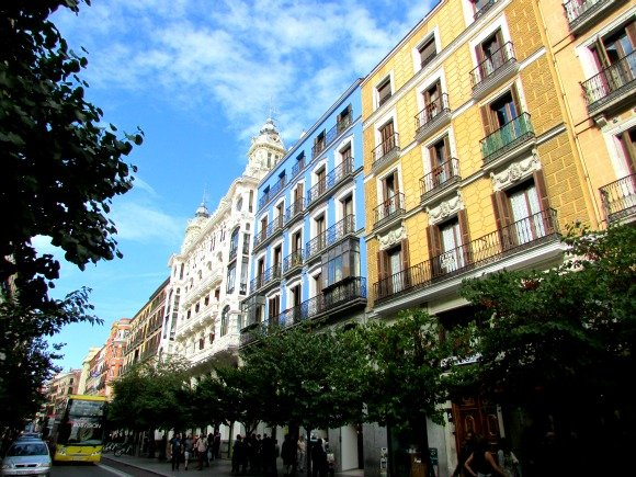 Calle Mayor, Madrid, Spain