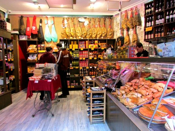 Jamon Shop, Madrid, Spain