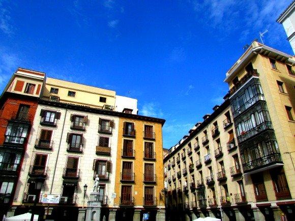Plaza de la Santa Cruz, Madrid, Spain