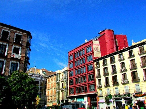 Plaza San Miguel, Madrid, Spain