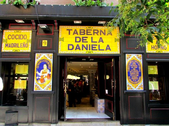 Taberna de la Daniela, Madrid, Spain