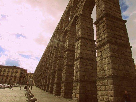 Aqueduct, Segovia, Spain