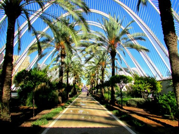 L'Umbracle, City of Arts and Sciences, Valencia, Spain