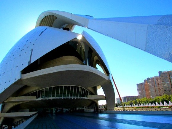 Palacio de las Artes Reina Sofia or The Opera, City of Arts and Sciences, Valencia, Spain