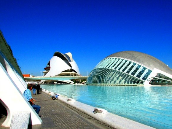 L'Hemisfèric, City of Arts and Sciences, Valencia, Spain
