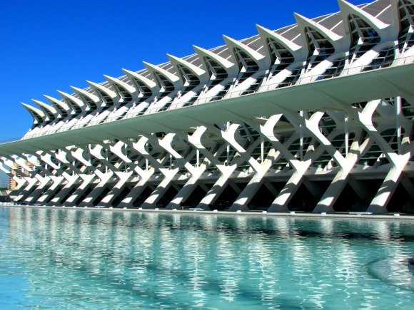 Museo de las Ciencias Príncipe Felipe, City of Arts and Sciences, Valencia, Spain