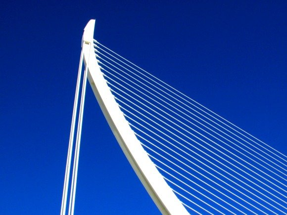 El Pont de l'Assut de l'Or, City of Arts and Sciences, Valencia, Spain
