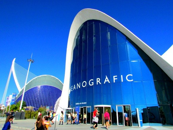 L'Oceanographic, City of Arts and Sciences, Valencia, Spain
