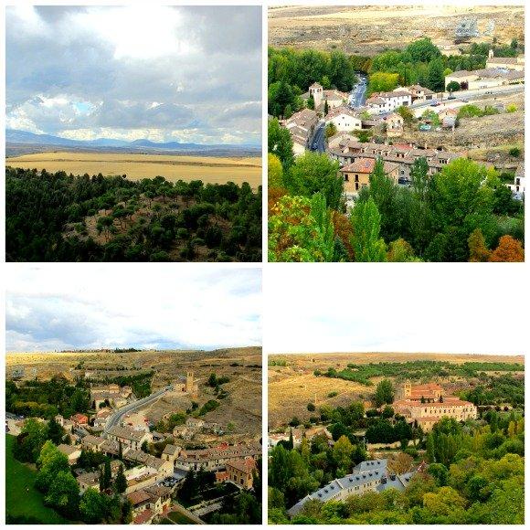 Views from the Alcazar, Segovia, Spain