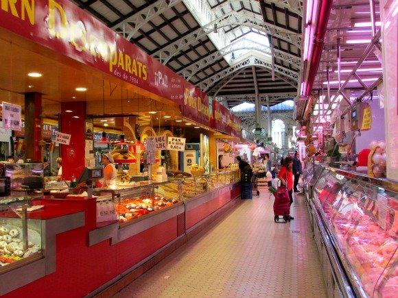Mercat Central or Central Market, Valencia, Spain