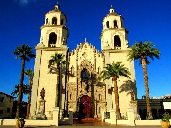 St. Agustin Cathedral, Tucson, Arizona