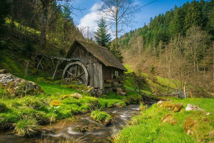 Things to do in the Black Forest Region, Germany, Old Mill