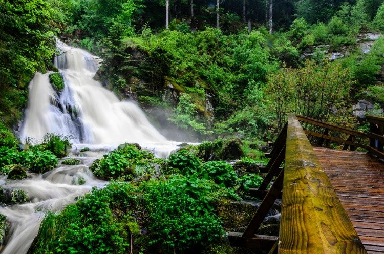 Things to do in the Black Forest Region, Germany, Triberg Waterfalls